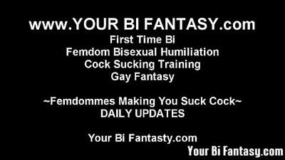ambisexual  bdsm  cock sucking