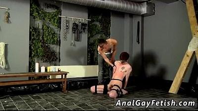 bondage  boys  cock sucking