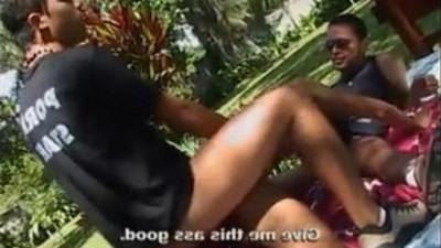 brazilian gays  threesome